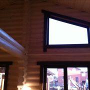 Окна из дерева в доме, Краснодар