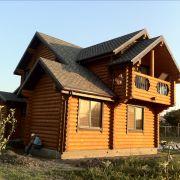 Дом из дерева Старочеркасск, вид сбоку
