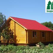 Готовый дом из бруса в Должанке
